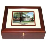 Ole Miss Eglomise Desk Box