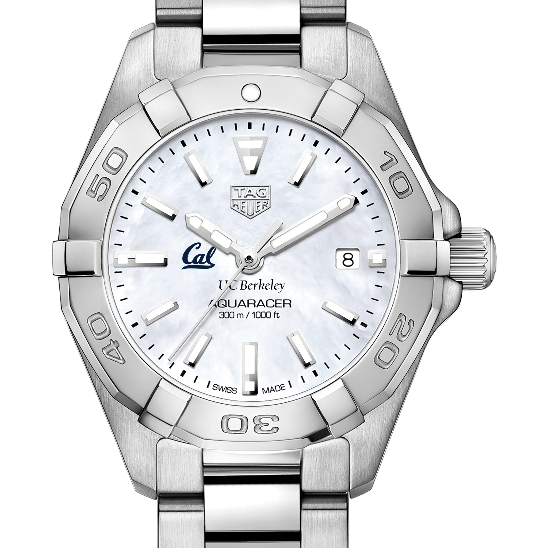 Berkeley Women's TAG Heuer Steel Aquaracer with MOP Dial