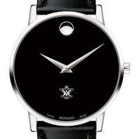 William & Mary Men's Movado Museum with Leather Strap