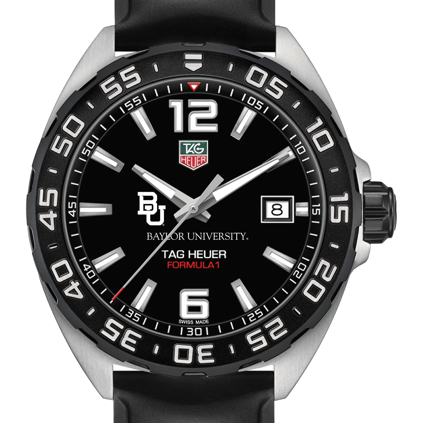 Baylor Men's TAG Heuer Formula 1 with Black Dial