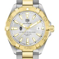 Wisconsin Men's TAG Heuer Two-Tone Aquaracer