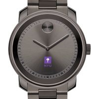 NYU Men's Movado BOLD Gunmetal Grey