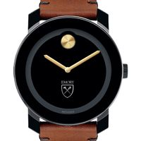 Emory Men's Movado BOLD with Brown Leather Strap