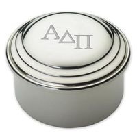 Alpha Delta Pi Pewter Keepsake Box