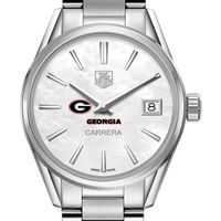 Georgia Women's TAG Heuer Steel Carrera with MOP Dial