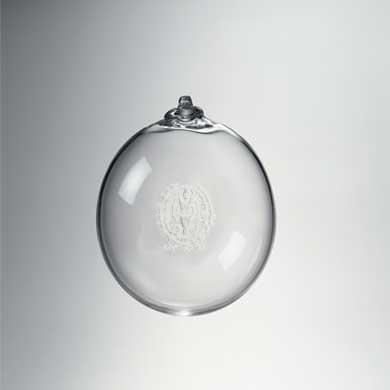 Georgetown Glass Ornament by Simon Pearce