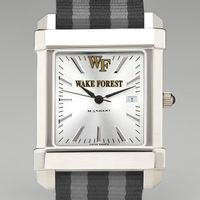 Wake Forest Men's Collegiate Watch w/ NATO Strap