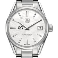 Chi Omega Women's TAG Heuer Steel Carrera with MOP Dial Image-1 Thumbnail