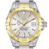 US Naval Institute Women's TAG Heuer Two-Tone Aquaracer