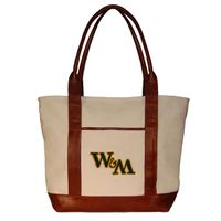 William & Mary Needlepoint Tote