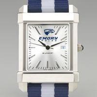 Emory Men's Collegiate Watch w/ NATO Strap