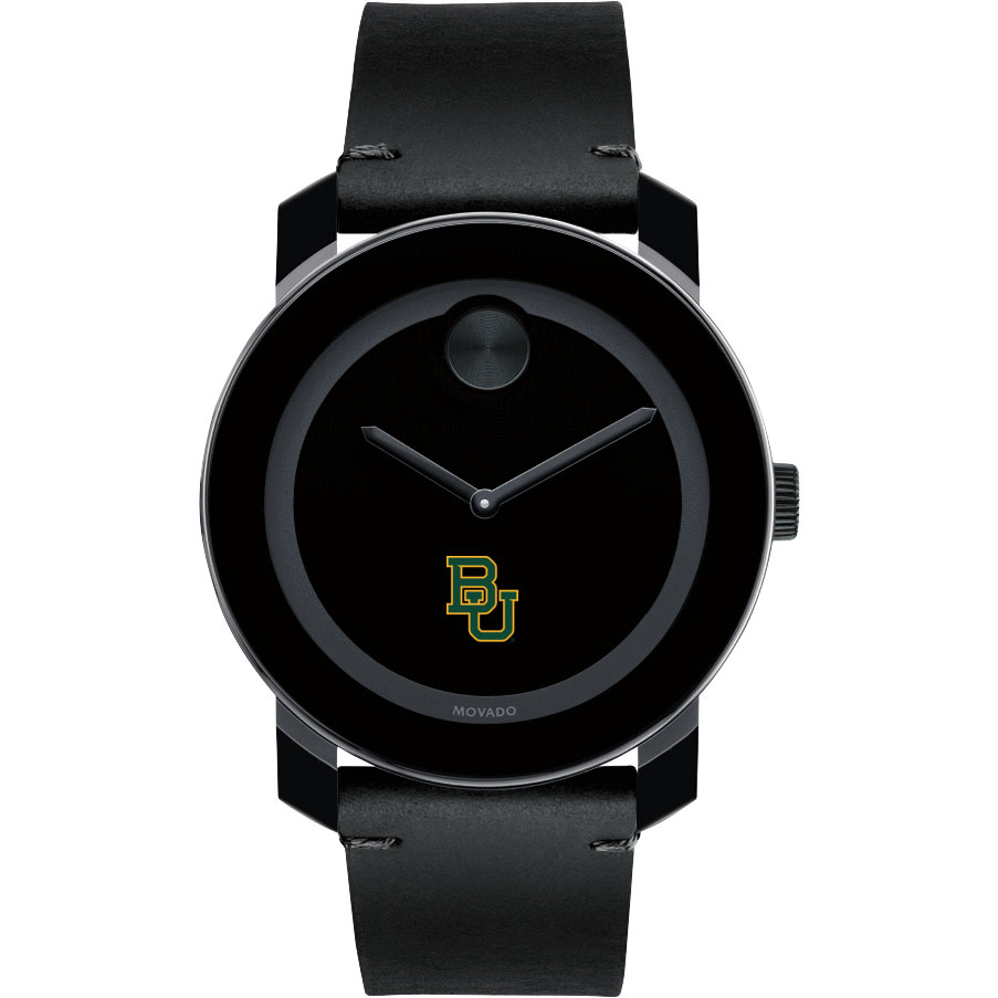 Baylor Men's Movado BOLD with Leather Strap