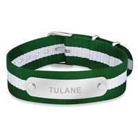 Tulane University NATO ID Bracelet