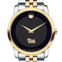 Pittsburgh Men's Movado Two-Tone Museum Classic Bracelet