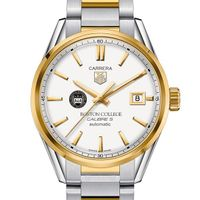 Boston College Men's TAG Heuer Two-Tone Carrera with Bracelet