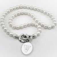 Vanderbilt Pearl Necklace with Sterling Silver Charm Image-1 Thumbnail