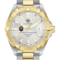 Ole Miss Men's TAG Heuer Two-Tone Aquaracer