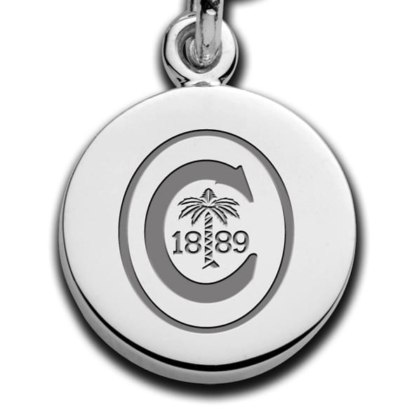 Clemson Sterling Silver Charm