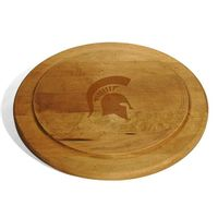 Michigan State Round Bread Server