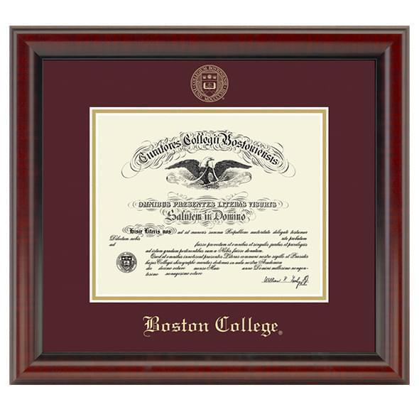 Boston Fidelitas Diploma Frame