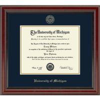 Michigan Fidelitas Bachelor/Masters Diploma Frame