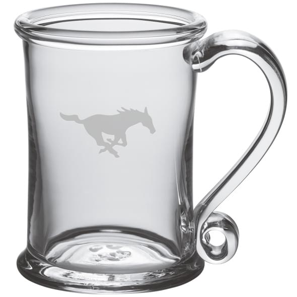 SMU Glass Tankard by Simon Pearce