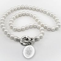 University of Tennessee Pearl Necklace with Sterling Silver Charm