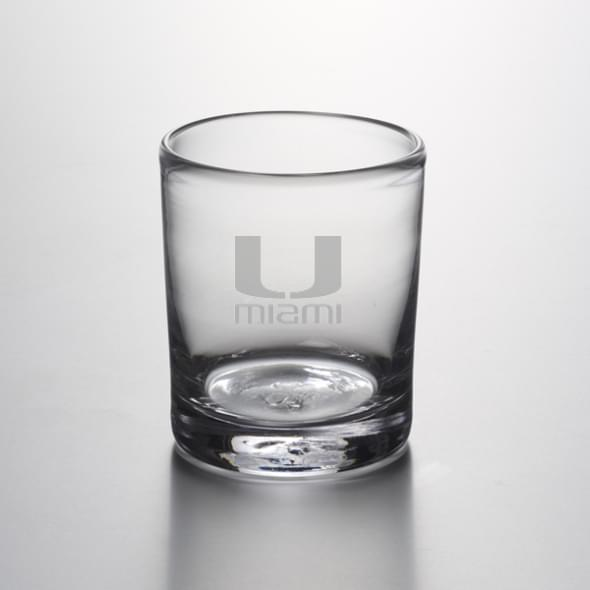 Miami Double Old Fashioned Glass by Simon Pearce