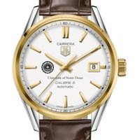 Notre Dame Men's TAG Heuer Two-Tone Carrera with Strap