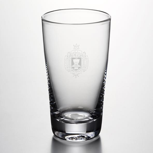 USNA Pint Glass by Simon Pearce