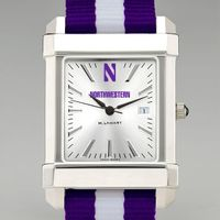 Northwestern Men's Collegiate Watch w/ NATO Strap Image-1 Thumbnail