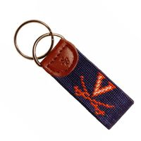 UVA Cotton Key Fob
