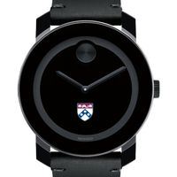 Penn Men's Movado BOLD with Leather Strap