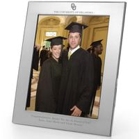 Oklahoma Polished Pewter 8x10 Picture Frame