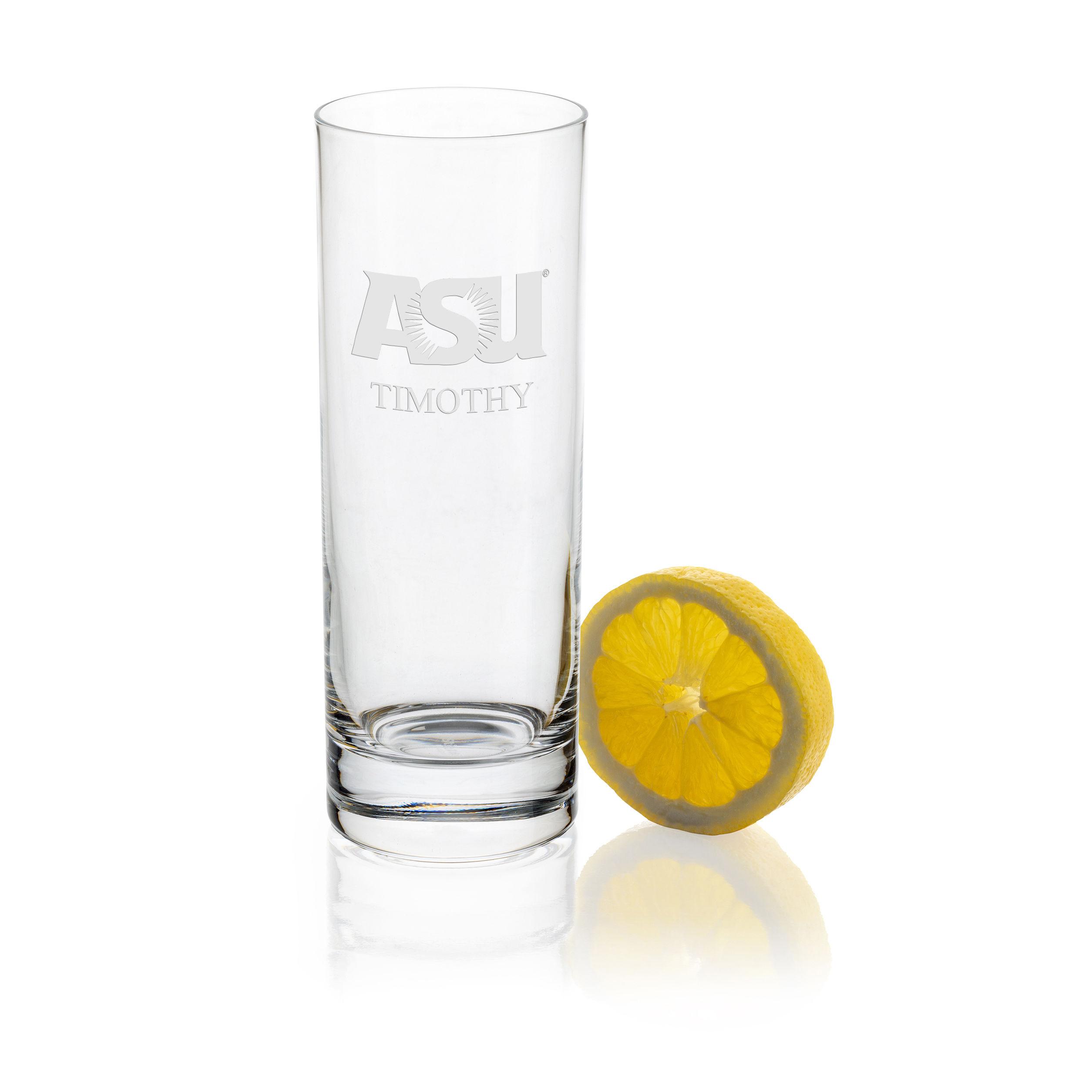 ASU Iced Beverage Glasses - Set of 4