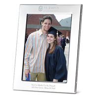 St. John's Polished Pewter 5x7 Picture Frame