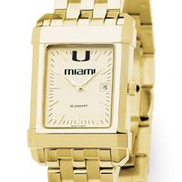 Miami Men's Gold Quad with Bracelet