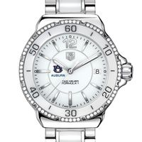 Auburn Women's Ceramic Formula1 with Diamond Bezel