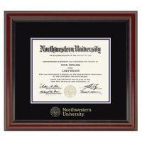Northwestern Fidelitas Diploma Frame Image-1 Thumbnail
