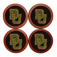 Baylor Needlepoint Coasters