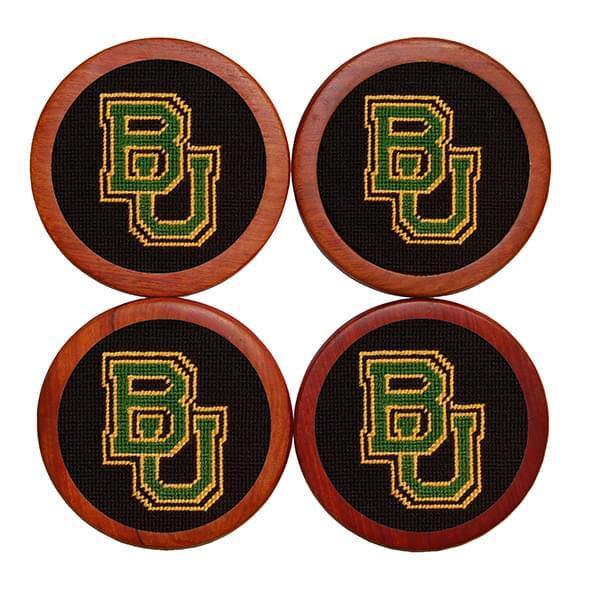 Baylor Needlepoint Coasters