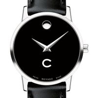Colgate Women's Movado Museum with Leather Strap