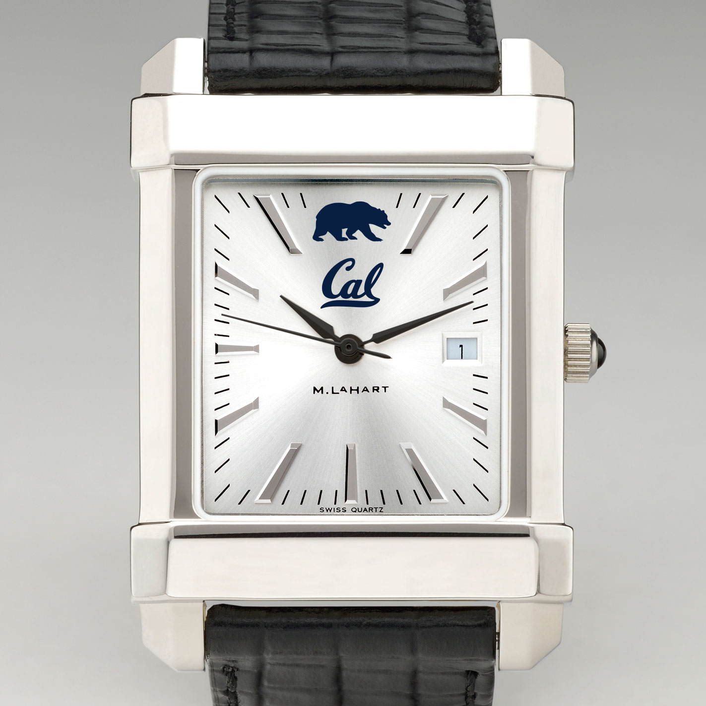 Berkeley Men's Collegiate Watch with Leather Strap