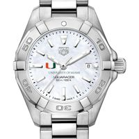 Miami Women's TAG Heuer Steel Aquaracer with MOP Dial
