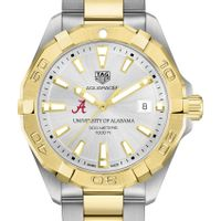 Alabama Men's TAG Heuer Two-Tone Aquaracer
