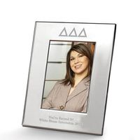 Delta Delta Delta Polished Pewter 4x6 Picture Frame