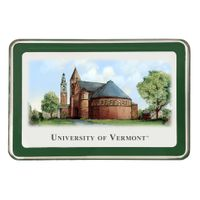 UVM Eglomise Paperweight