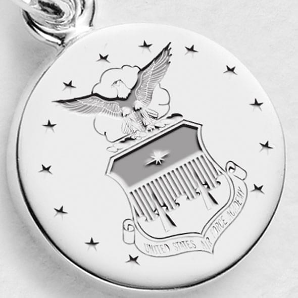 Air Force Sterling Silver Charm
