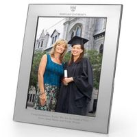 Harvard Polished Pewter 8x10 Picture Frame