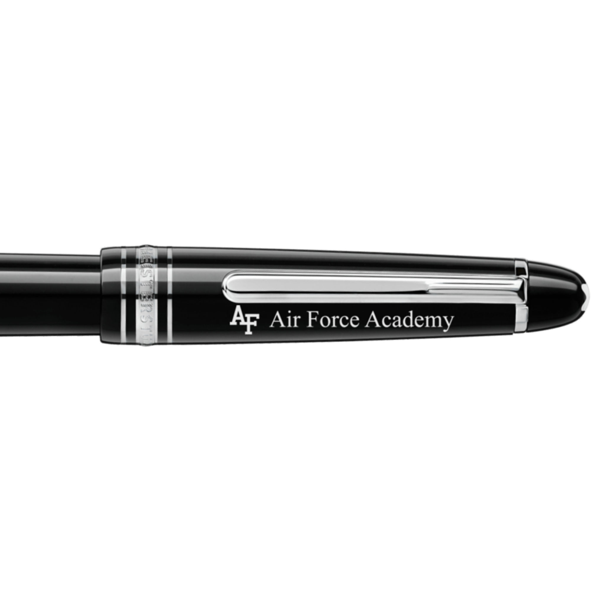 US Air Force Academy Montblanc Meisterstück Classique Fountain Pen in Platinum